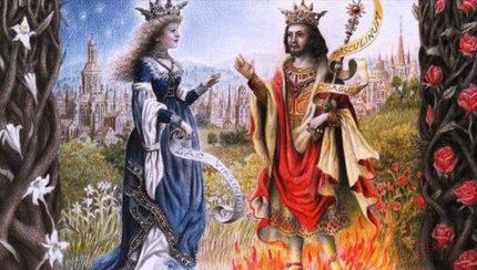 Tábua de Esmeralda da Alquimia por Grasseus