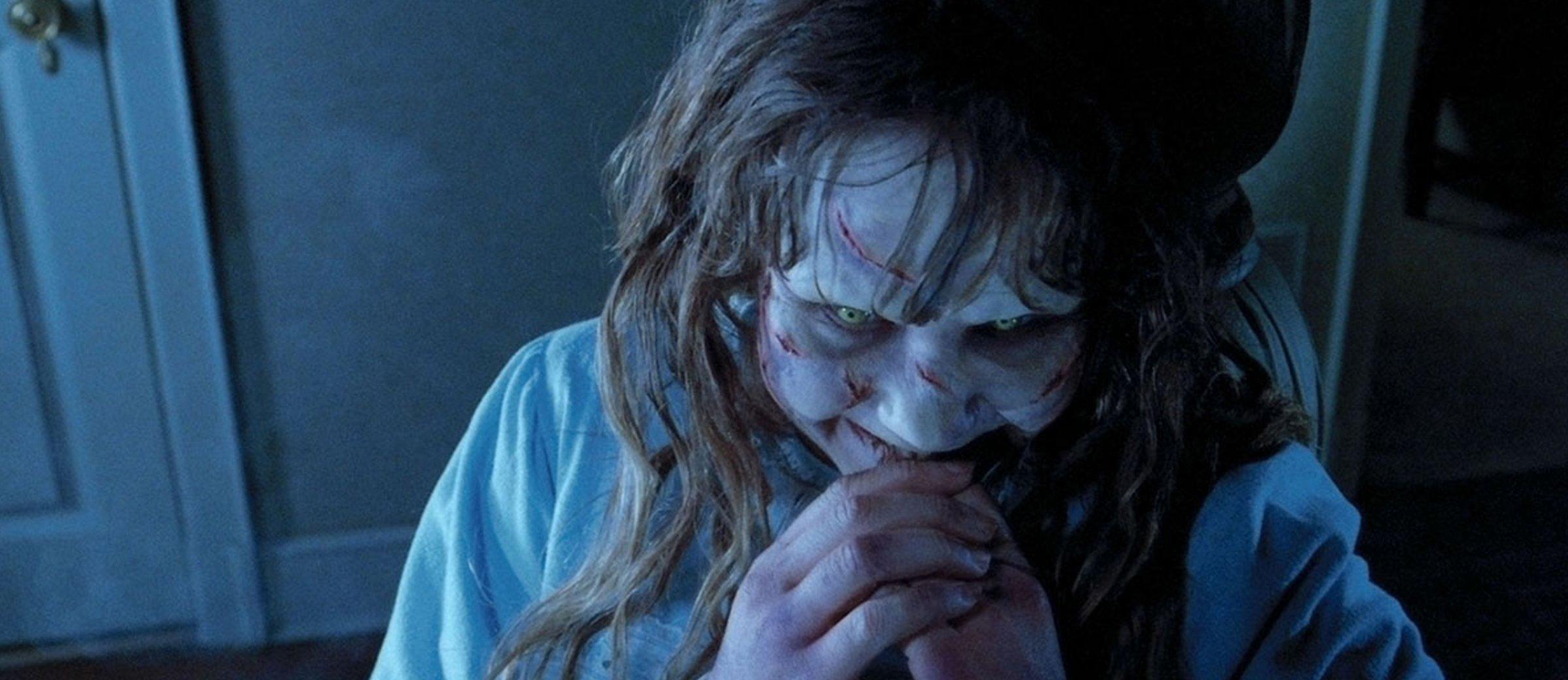 """Esse video dos bastidores do filme """"O Exorcista"""" é tão assustador quanto o filme"""