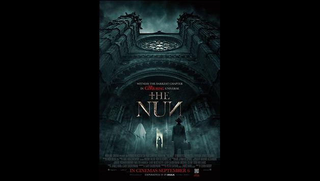 """A semelhança do novo cartaz de """"A freira"""" com a atmosfera de 'O Exorcista' é perturbadora."""